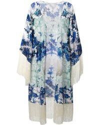 Athena Procopiou 'omorfi Katerina' Kimono - Blue