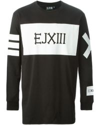 Ejxiii - Logo Printed Sweatshirt - Lyst