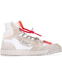 Off-White c/o Virgil Abloh High-top Sneakers - Wit
