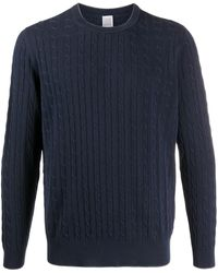 Eleventy Cable-knit Sweater - Blue