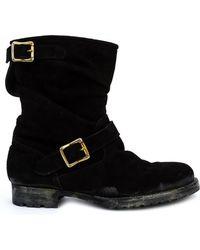 Miharayasuhiro - Buckle Detail Boots - Lyst