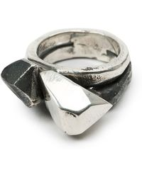 Lee Brennan Design - Faceted Ring - Lyst