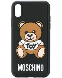 Moschino Toy Teddy Bear Iphone Xr Case - Black