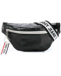 Tommy Hilfiger ロゴ ベルトバッグ - ブラック