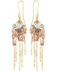 Natasha Collis - 'rod' Sapphire Earrings - Lyst