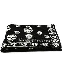 Alexander McQueen - Skull Print Towel - Lyst