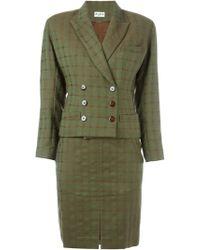 Alaïa - Skirt And Jacket Suit - Lyst