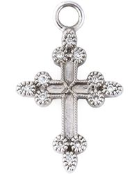 Stone | 'devotion' Diamond Charm | Lyst