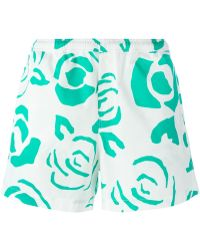 JW Anderson - Floral Print Swim Shorts - Lyst
