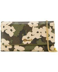 MUVEIL - Floral Print Wallet Crossbody Bag - Lyst