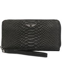Zadig & Voltaire Compagnon Savage 財布 - ブラック
