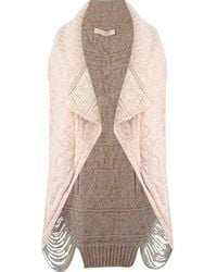 Cecilia Prado - Open Front Knitted Waistcoat - Lyst