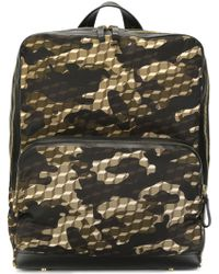 Pierre Hardy - 'camocube' Backpack - Lyst
