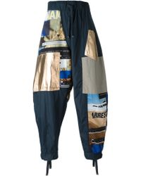 Blood Brother - Loose Fit Patchwork Trousers - Lyst