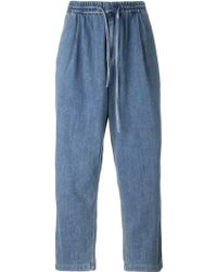 Juun.J - Drawstring Jeans - Lyst