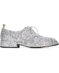Golden Goose 'nora' Derby Shoes - Metallic