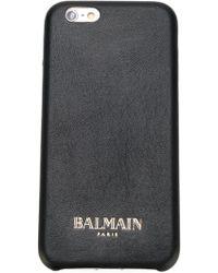 Balmain Classic Iphone 6 Case - Black