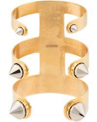 Monica Sordo 'cleopatra' Cuff Bracelet - Metallic