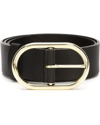 FRAME - Le Oval Buckle Belt - Lyst