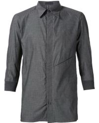 DEVOA - Three Quarter Sleeve Shirt - Lyst