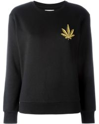 Palm Angels - Embellished Sweatshirt - Lyst
