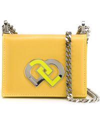 DSquared² Small 'dd' Crossbody Bag - Multicolor