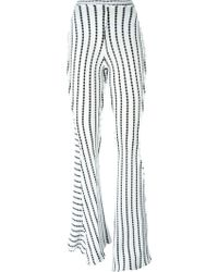 Richard Malone - Patchwork Twisted Seam Trousers - Lyst