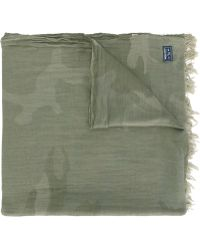 Woolrich - Camouflage Scarf - Lyst