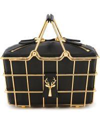 SAVAS - Mini 'caroline' Basket Bag - Lyst