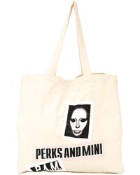 P.a.m. Perks And Mini - 'banner' Oversized Tote - Lyst