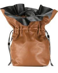 Toga - Drawstring Large Bucket Tote Bag - Lyst
