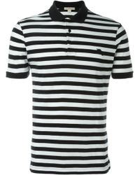 Burberry Brit - Striped Polo Shirt - Lyst