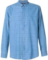 Neuw - Printed Denim Shirt - Lyst