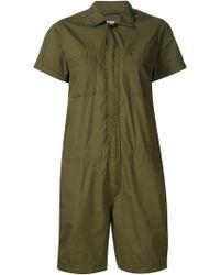 Engineered Garments - Patch Pocket Romper - Lyst