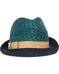 Jacob Cohen - Polka Dot Grossgrain Hat - Lyst