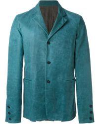 Ma+ - Classic Buttoned Blazer - Lyst