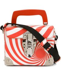 Jeremy Scott - Swirl Print Cross Body Bag - Lyst