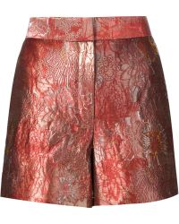 The Row - Jacquard Shorts - Lyst