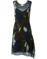 Paul by Paul Smith - Floral Print Dress - Lyst