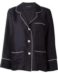 Erika Cavallini Semi Couture - Pyjama Style Shirt - Lyst