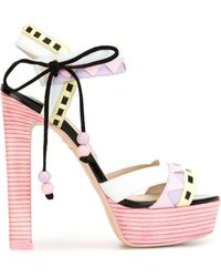 Sophia Webster 'riko' Sandals - Pink