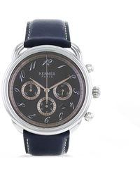 Hermès Наручные Часы Arceau Chrono Pre-owned 43 Мм 2000-х Годов - Серый
