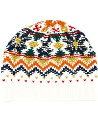 Vanessa Bruno Athé - Vanessa Bruno Athé Patterned Beanie - Lyst