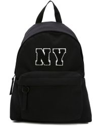 Joshua Sanders Ny Jersey Backpack - Black