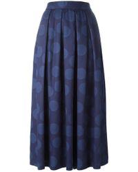 Blue Blue Japan - 'dot' Skirt - Lyst