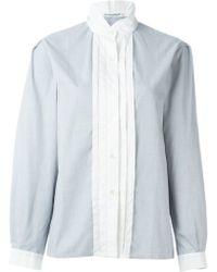 Guy Laroche - Stand Up Collar Shirt - Lyst