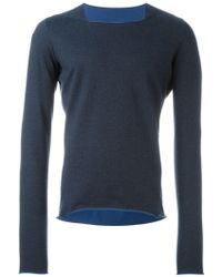 Ma+ - Square Neck Jumper - Lyst