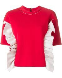 Marni - Ruffle Sweatshirt - Lyst