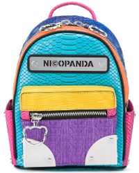 Nicopanda - Logo Patch Backpack - Lyst