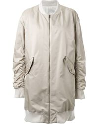 Fad Three - Bomber Coat - Lyst